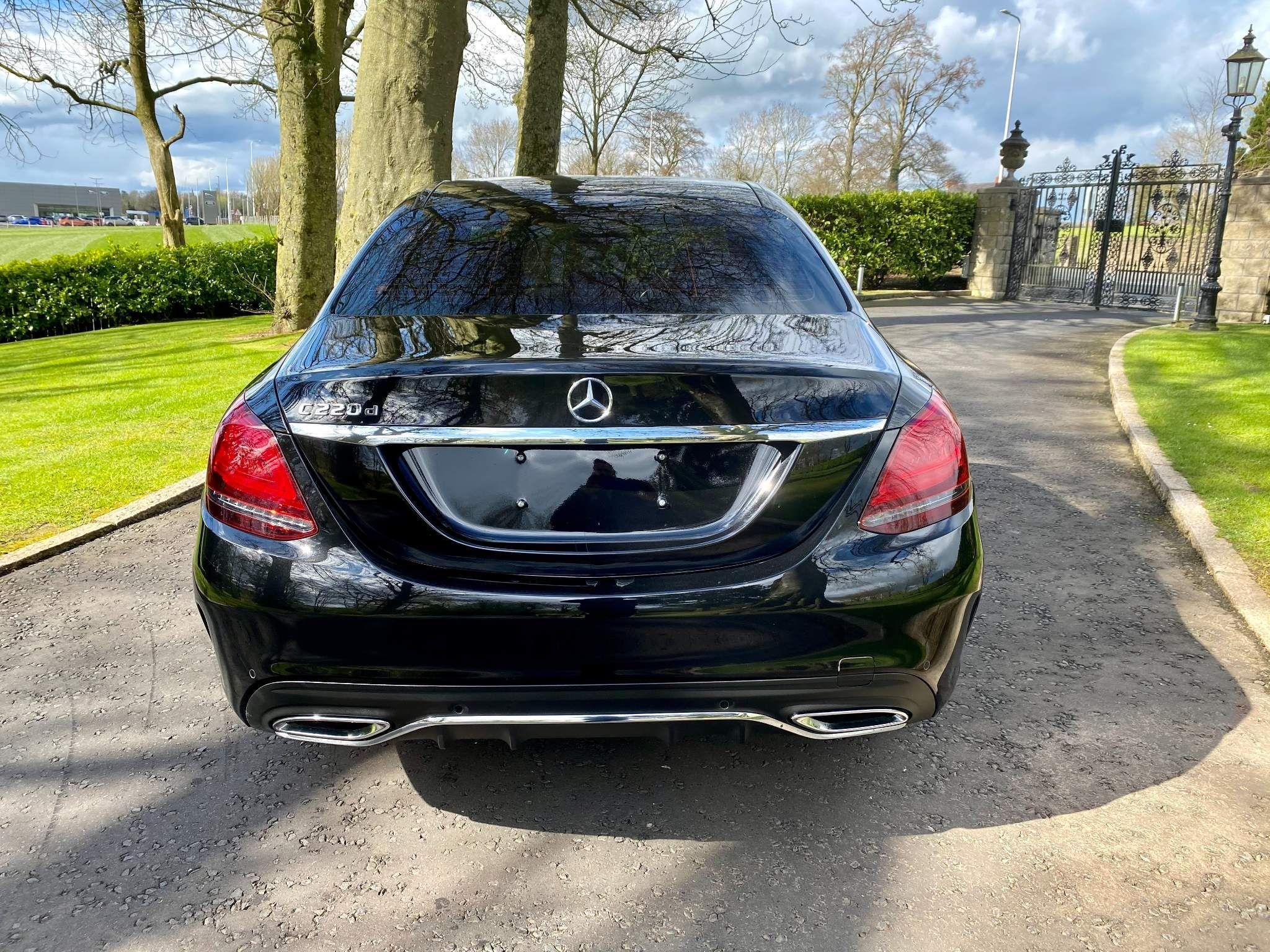 2019 Mercedes-Benz C Class 2.0 C220d AMG Line G-Tronic+ (s/s) 4dr Diesel Automatic – Moyway Motors Dungannon full