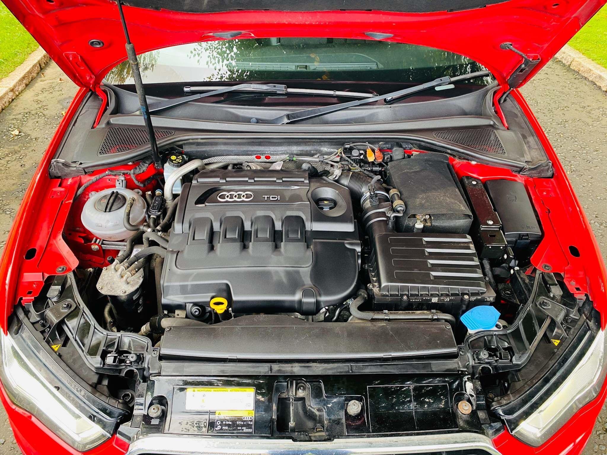 2013 Audi A3 2.0 TDI S line Sportback 5dr Diesel Manual – Moyway Motors Dungannon full