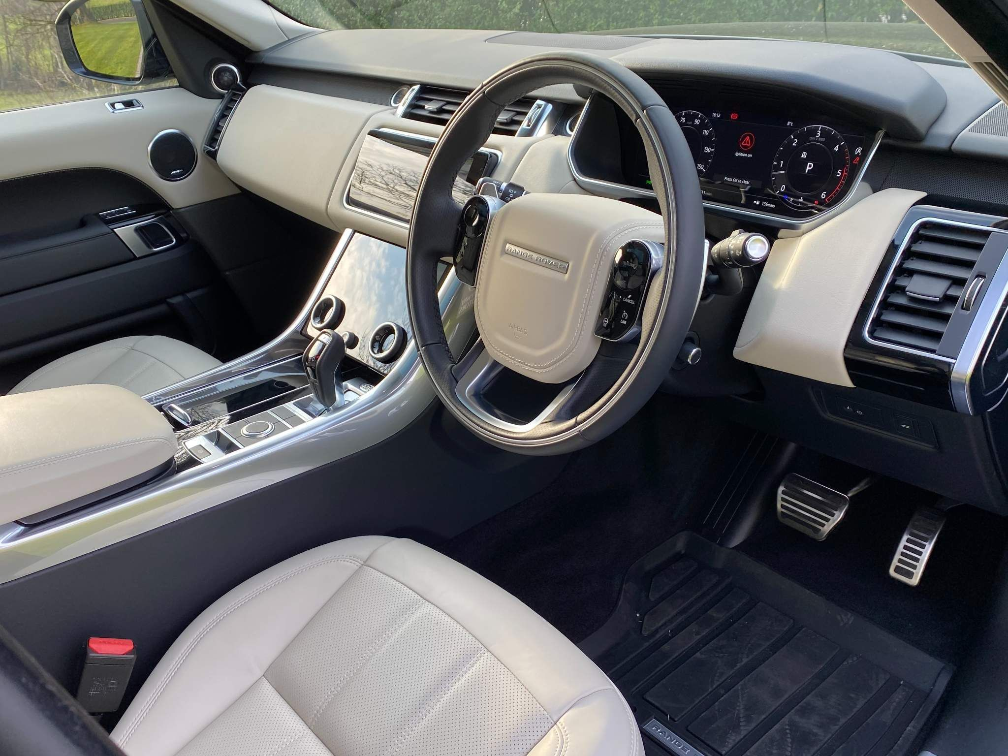 2021 Land Rover Range Rover Sport 3.0 D300 MHEV HSE Silver Auto 4WD (s/s) 5dr Diesel Automatic – Moyway Motors Dungannon full