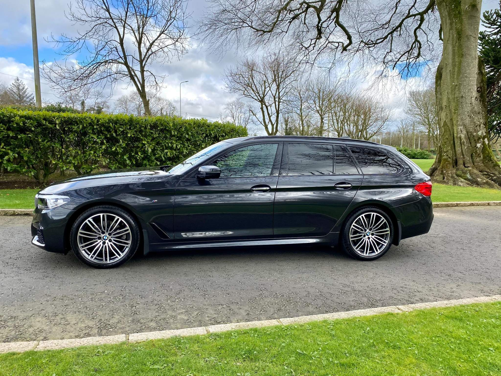 2018 BMW 5 Series 2.0 520d M Sport Touring Auto xDrive (s/s) 5dr Diesel Automatic – Moyway Motors Dungannon full
