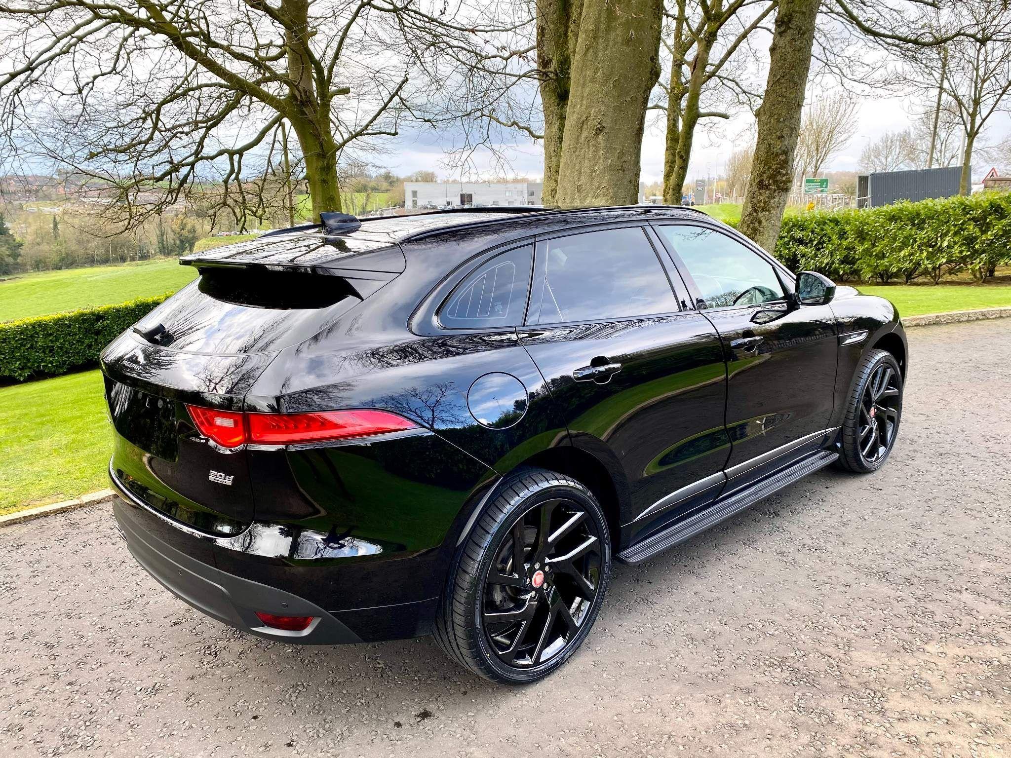 2016 Jaguar F-PACE 2.0d R-Sport Auto AWD (s/s) 5dr Diesel Automatic – Moyway Motors Dungannon full