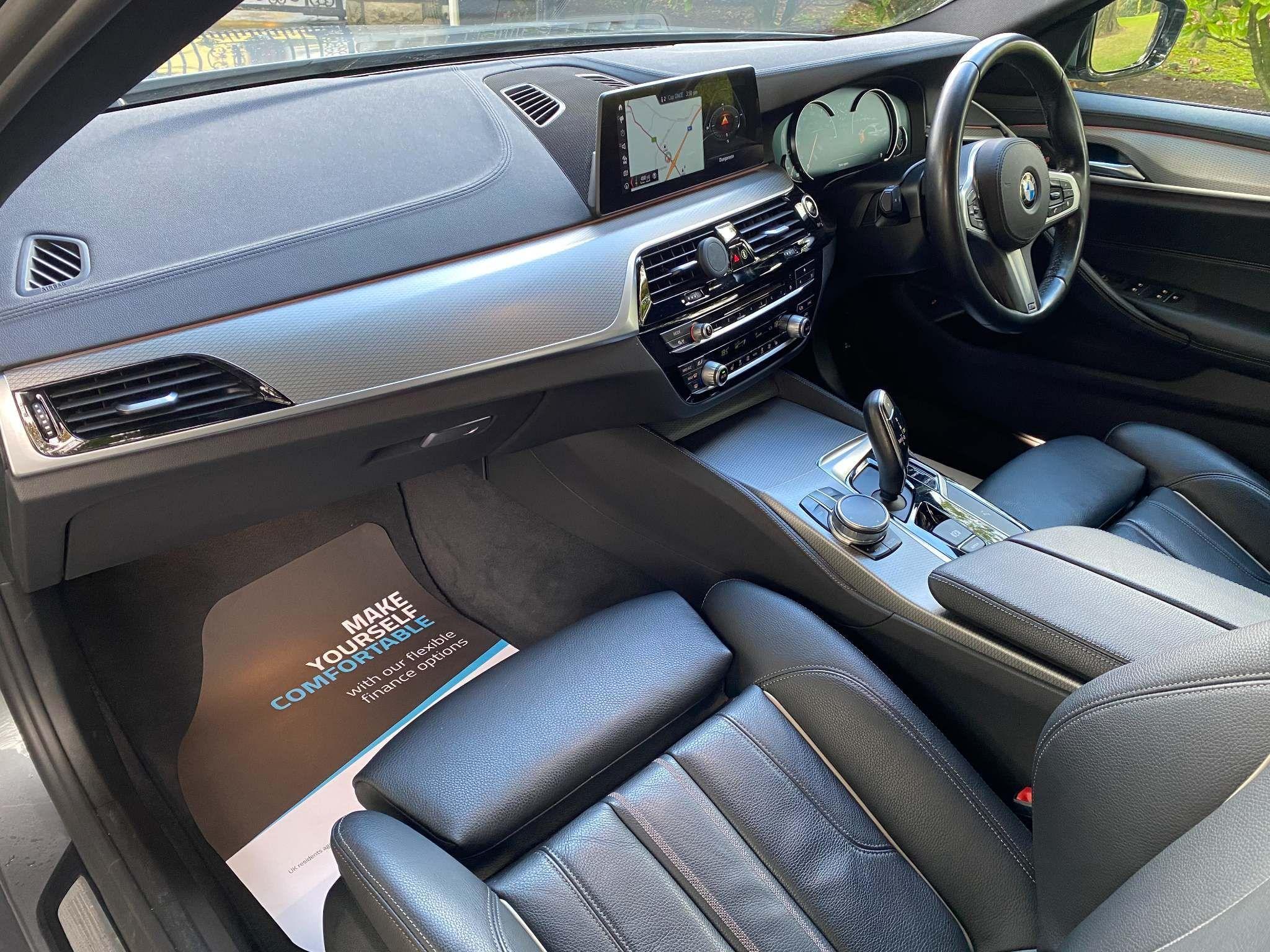 2017 BMW 5 Series 2.0 520d M Sport Auto (s/s) 4dr Diesel Automatic – Moyway Motors Dungannon full