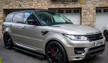 2014 Land Rover Range Rover Sport 5.0 V8 AUTOBIOGRAPHY DYNAMIC Petrol Automatic – Morgan Cars 9 Mound Road, Warrenpoint, Newry BT34 3LW, UK