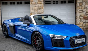 2018 Audi R8 V10 5.2 SPYDER Petrol Automatic – Morgan Cars 9 Mound Road, Warrenpoint, Newry BT34 3LW, UK