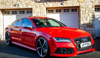 2014 Audi A7 RS7 SPORTBACK 4.0 TFSI V8 QUATTRO Petrol Automatic – Morgan Cars 9 Mound Road, Warrenpoint, Newry BT34 3LW, UK