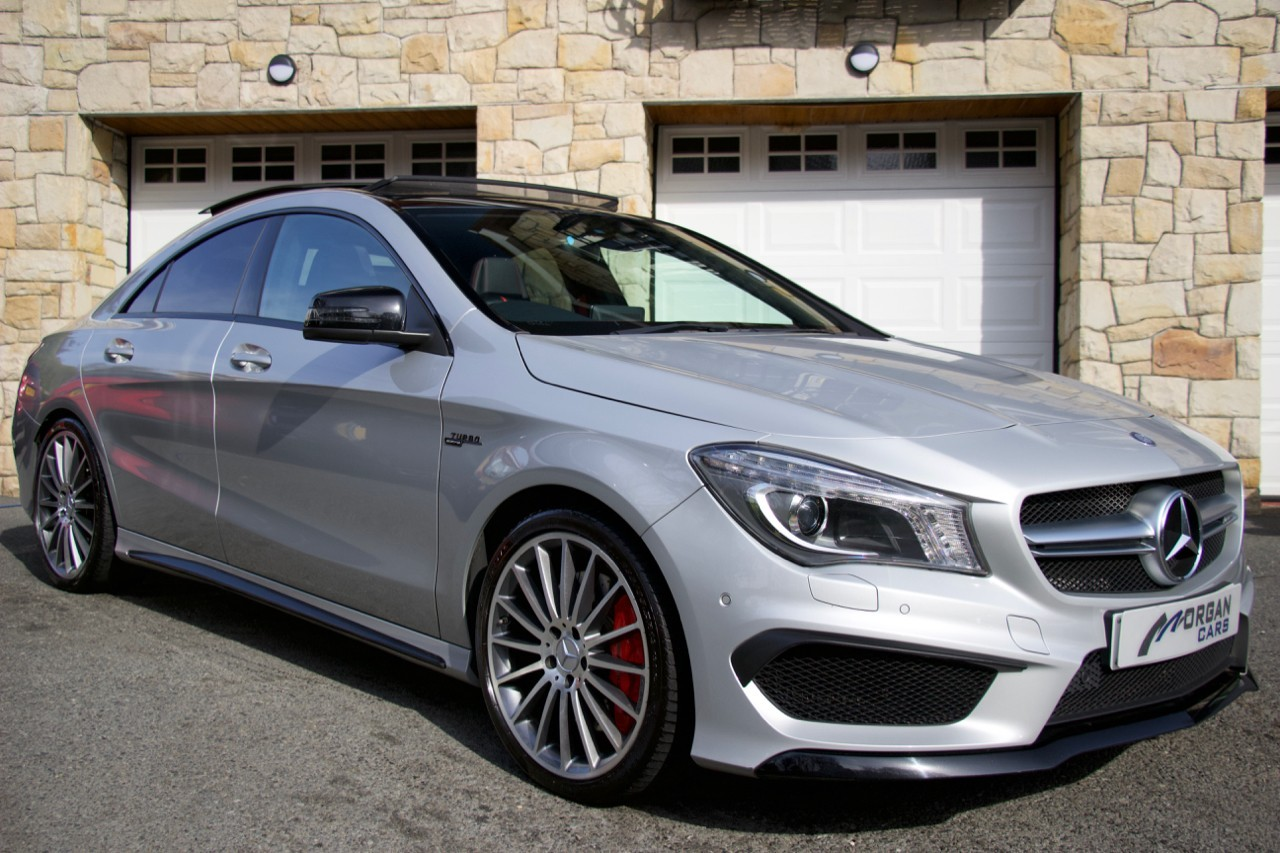 2015 Mercedes-Benz CLA CLA45 AMG 4MATIC Petrol Automatic – Morgan Cars 9 Mound Road, Warrenpoint, Newry BT34 3LW, UK
