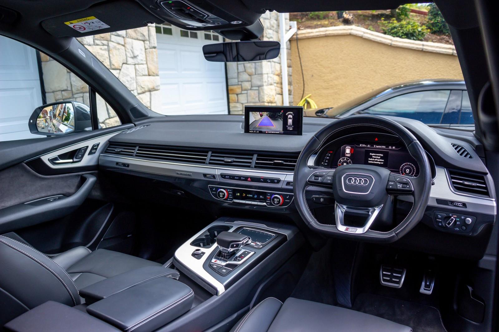 2017 Audi Q7 SQ7 4.0 TDI QUATTRO Diesel Automatic – Morgan Cars 9 Mound Road, Warrenpoint, Newry BT34 3LW, UK full