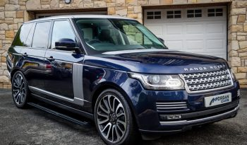 2016 Land Rover Range Rover 3.0 TDV6 VOGUE Diesel Automatic – Morgan Cars 9 Mound Road, Warrenpoint, Newry BT34 3LW, UK