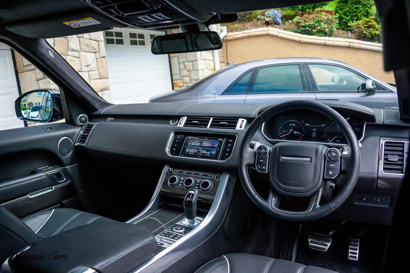 2015 Land Rover Range Rover Sport V8 5.0 SVR Petrol Automatic – Morgan Cars 9 Mound Road, Warrenpoint, Newry BT34 3LW, UK full