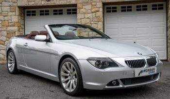2007 BMW 6 Series 650i 4.8 CONVERTIBLE Petrol Automatic – Morgan Cars 9 Mound Road, Warrenpoint, Newry BT34 3LW, UK