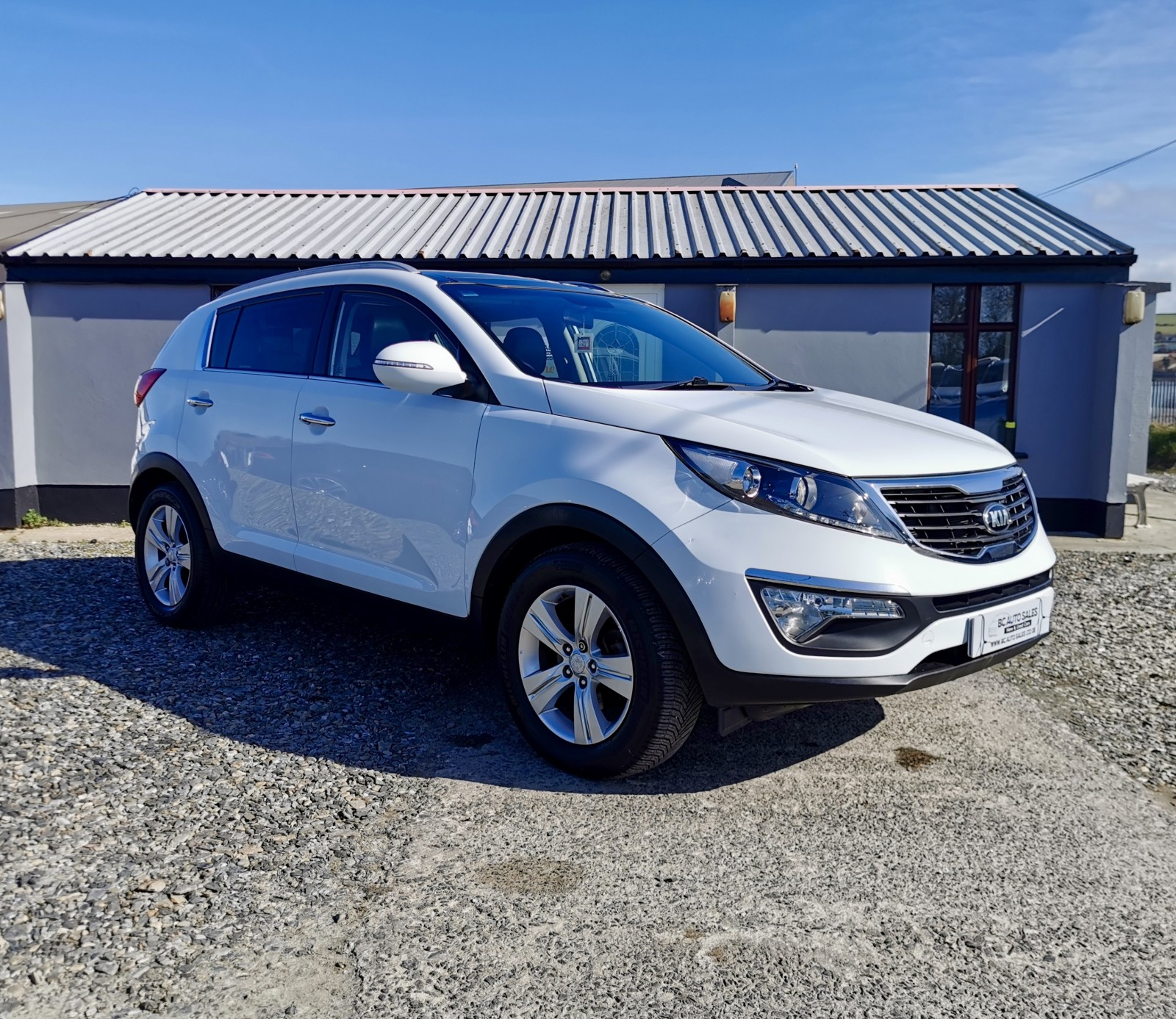 2013 Kia Sportage CRDI 2 Diesel Manual – BC Autosales 17A Airfield Road, Eglinton, Londonderry BT47 3PZ, UK