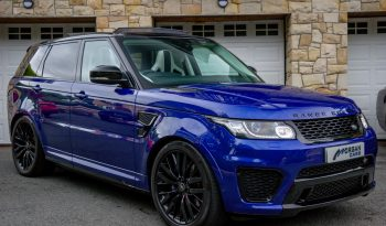 2017 Land Rover Range Rover Sport 5.0 V8 SVR Petrol Automatic – Morgan Cars 9 Mound Road, Warrenpoint, Newry BT34 3LW, UK