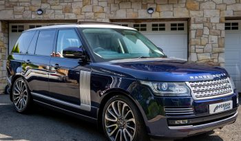 2015 Land Rover Range Rover 5.0 SUPERCHARGED V8 AUTOBIOGRAPHY Petrol Automatic – Morgan Cars 9 Mound Road, Warrenpoint, Newry BT34 3LW, UK