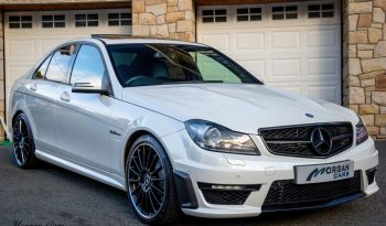 2012 Mercedes-Benz C Class C63 AMG 6.2 Petrol Automatic – Morgan Cars 9 Mound Road, Warrenpoint, Newry BT34 3LW, UK