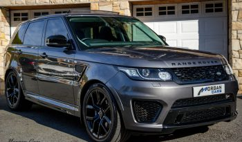 2016 Land Rover Range Rover Sport 5.0 SVR SUPERCHARGED Petrol Automatic – Morgan Cars 9 Mound Road, Warrenpoint, Newry BT34 3LW, UK