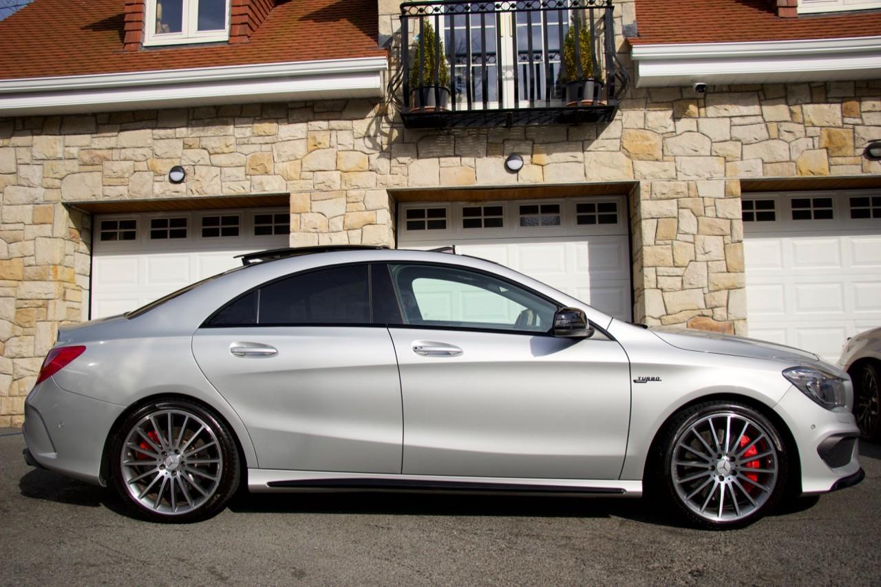 2015 Mercedes-Benz CLA CLA45 AMG 4MATIC Petrol Automatic – Morgan Cars 9 Mound Road, Warrenpoint, Newry BT34 3LW, UK full