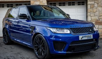 test22015 Land Rover Range Rover Sport V8 SVR Petrol Automatic – Morgan Cars 9 Mound Road, Warrenpoint, Newry BT34 3LW, UK