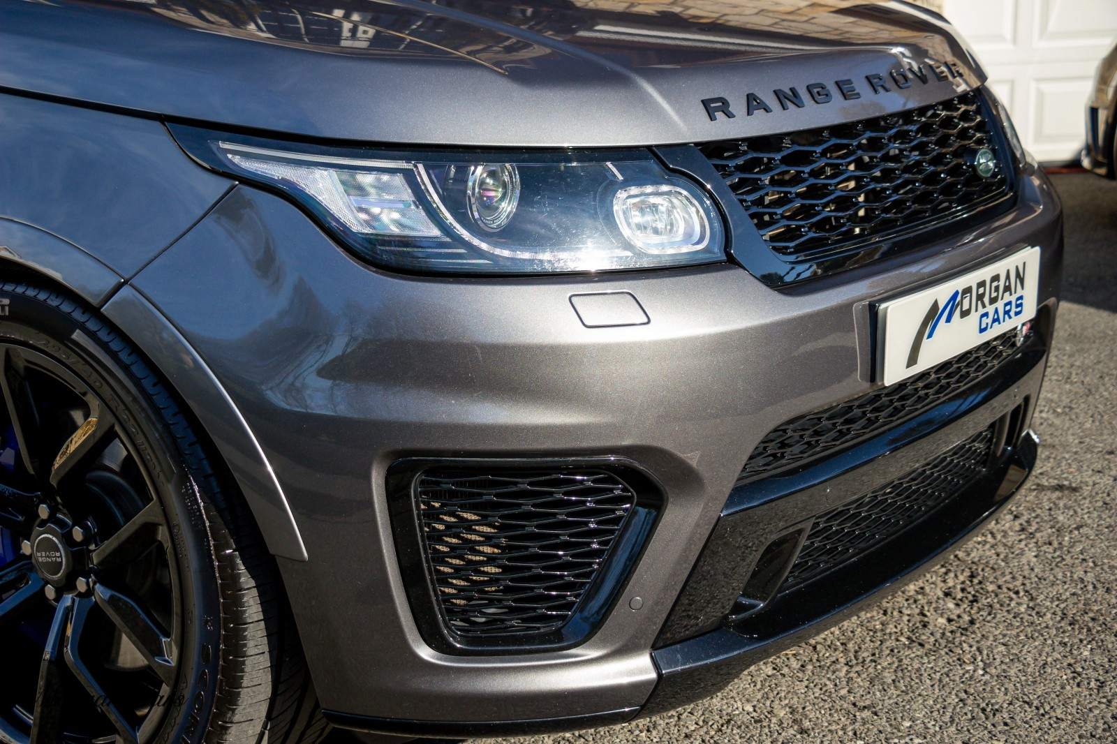 2016 Land Rover Range Rover Sport 5.0 SVR SUPERCHARGED Petrol Automatic – Morgan Cars 9 Mound Road, Warrenpoint, Newry BT34 3LW, UK full
