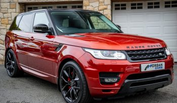 2014 Land Rover Range Rover Sport 3.0 SDV6 HSE DYNAMIC Diesel Automatic – Morgan Cars 9 Mound Road, Warrenpoint, Newry BT34 3LW, UK